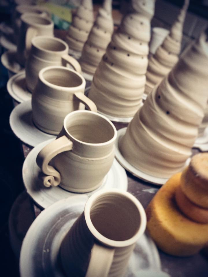 Pottery, Gallery, Art Making