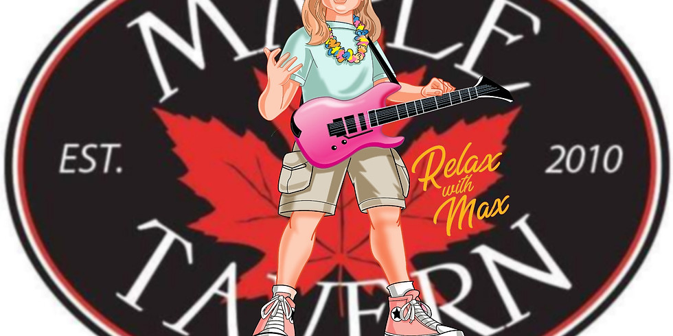 Relax with Max - Live Music
