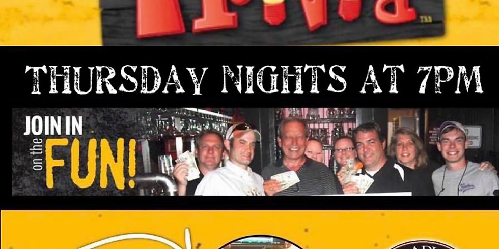 DJ TRIVIA Thursday Nights 7pm