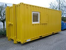 Magazijn container D.C.S Nijmegen