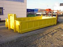 Open afvalcontainer D.C.S Nijmegen