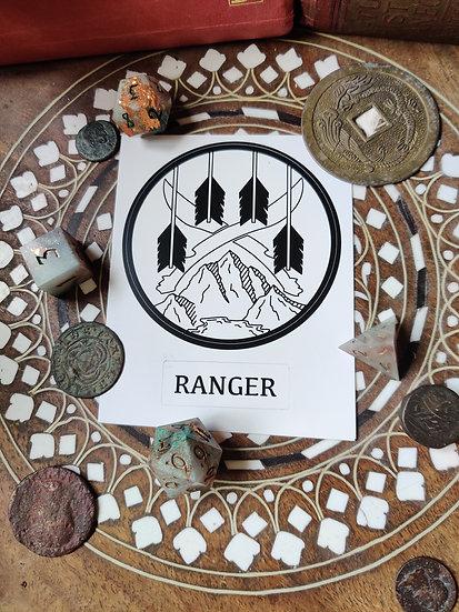 Ranger Class Sticker