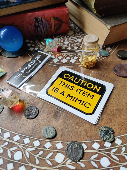 1 Mimic Warning Sticker