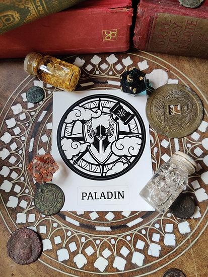 Paladin Class Sticker