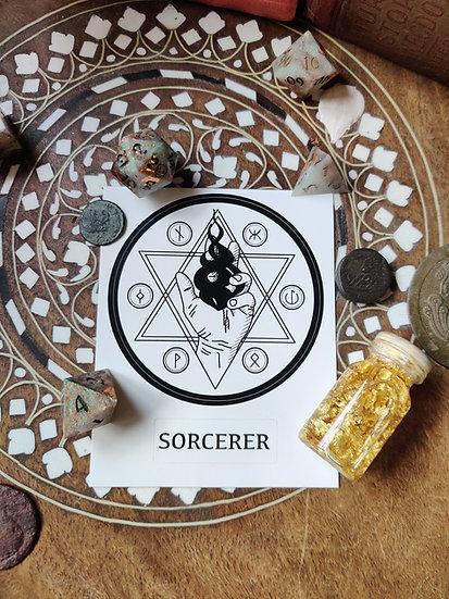Sorcerer Class Sticker