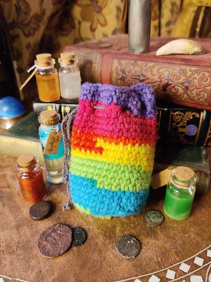 Rainbow Double Set Dice Bag