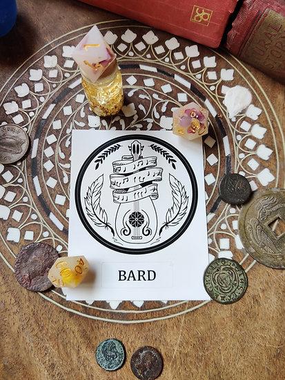 Bard Class Sticker