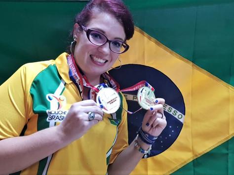 Stephanie Martins vence o Pan-Americano individual de boliche