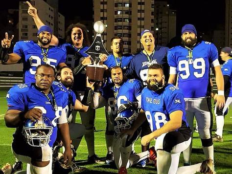 Tubarões do Cerrado é campeão candango de Futebol Americano