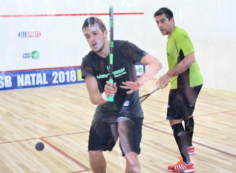 Pedro Mometto vence mais uma etapa do Novo Squash Brasil em final espetacular.