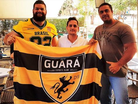 Guará Esporte Clube é o primeiro time de Futebol a apostar no Futebol Americano no Distrito Federal