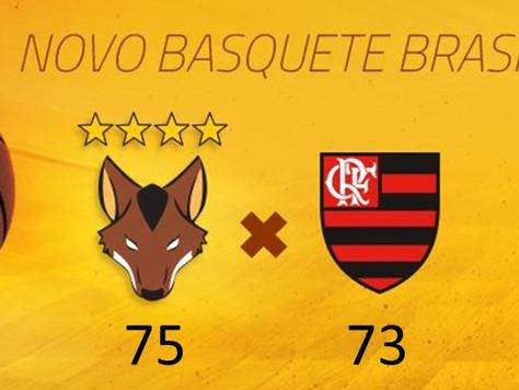 Giovannoni brilha e Brasília bate o Flamengo fora de casa