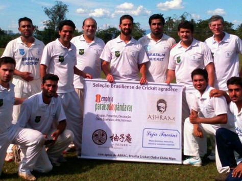 Brasília cricket chega ao Rio de Janeiro para o campeonato brasileiro