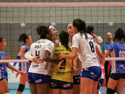 Brasília Vôlei usou campeonato mineiro como preparação para a Superliga