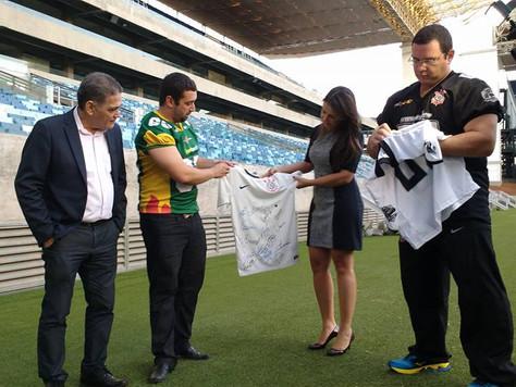 Cuiabá Arsenal e Corinthians Steamrollers juntos em busca de um novo recorde
