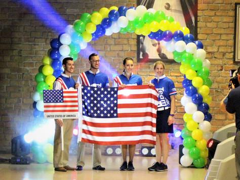 V torneio Pan americano campeão dos campeões foi aberto hoje, no Rio de Janeiro.