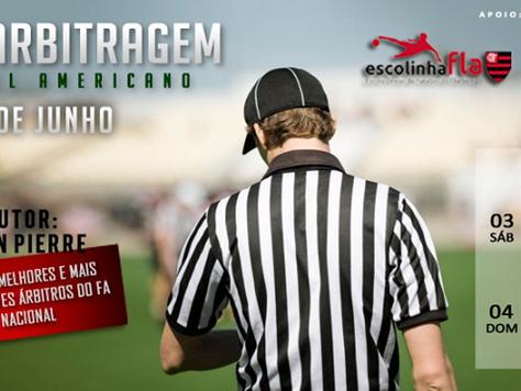 Federação de Futebol Americano pretende aumentar o quadro de arbitragem no Distrito Federal e Goiás