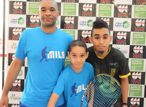 """Jovens aparecem no """"Brazil Junior Open"""" como o futuro do Squash"""