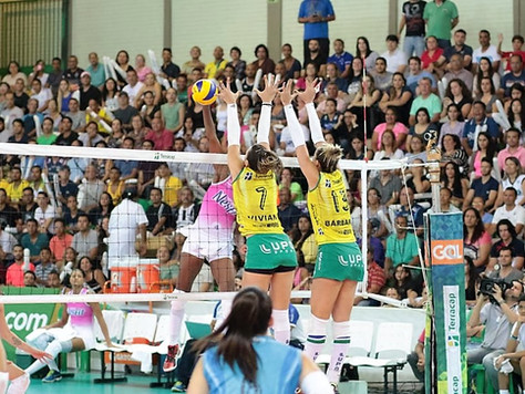 Brasília vôlei é dominado pelo Osasco e acaba eliminado da Superliga