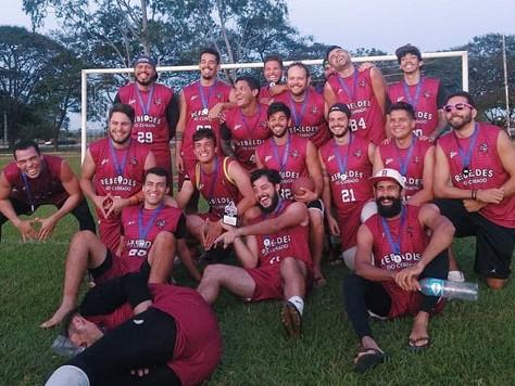 Time de Brasília é terceiro no campeonato Brasileiro de Flag Football