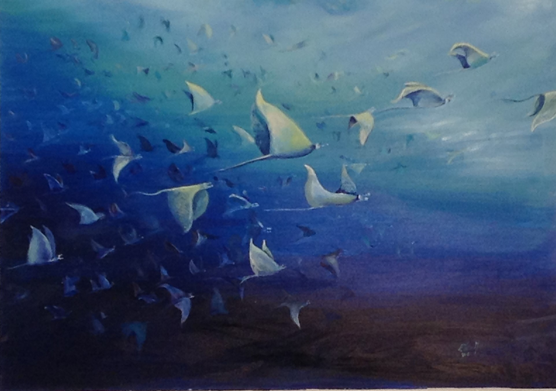 'Rays rising' Sold