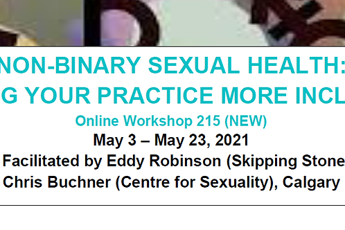 NON-BINARY SEXUAL HEALTH: MAKING YOUR PRACTICE MORE INCLUSIVE