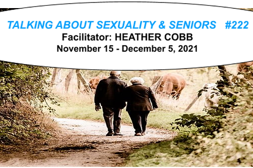 TALKING ABOUT SEXUALITY & SENIORS