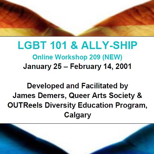LGBT 101 & ALLY-SHIP