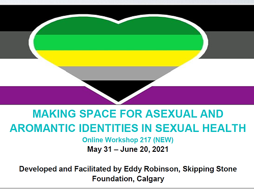 MAKING SPACE FOR ASEXUAL AND AROMANTIC IDENTITIES IN SEXUAL HEALTH