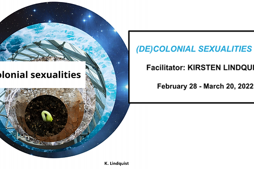 (DE)COLONIAL SEXUALITIES