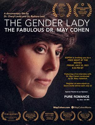 The Gender Lady film screening poster.pn