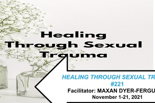 HEALING THROUGH SEXUAL TRAUMA