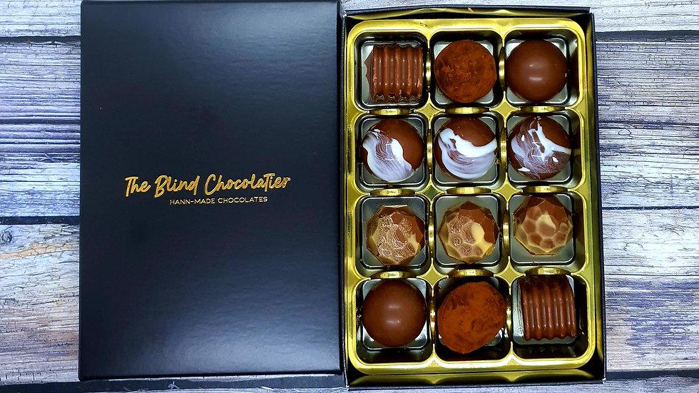 Milk Chocolate 12 Box