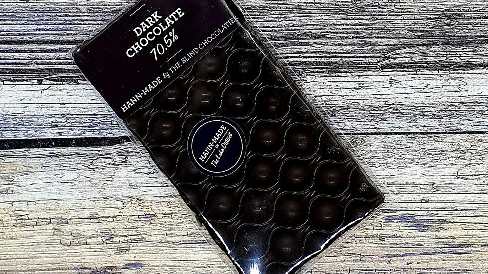 Dark chocolate 70.5% bar
