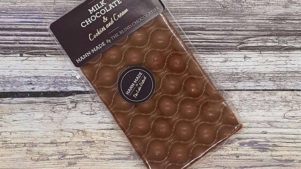 80g Milk Chocolate, Cookies & Cream Bar