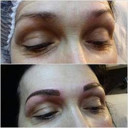 Intensification des sourcils