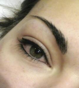 Eye liner inférieur et supérieur