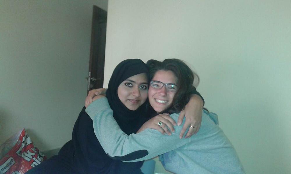 Shaema and Sanne.JPG