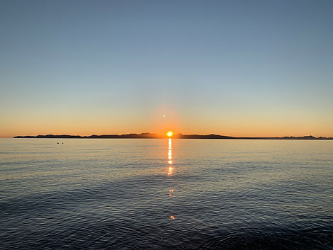 Sunrise in Loreto Baja California Sur