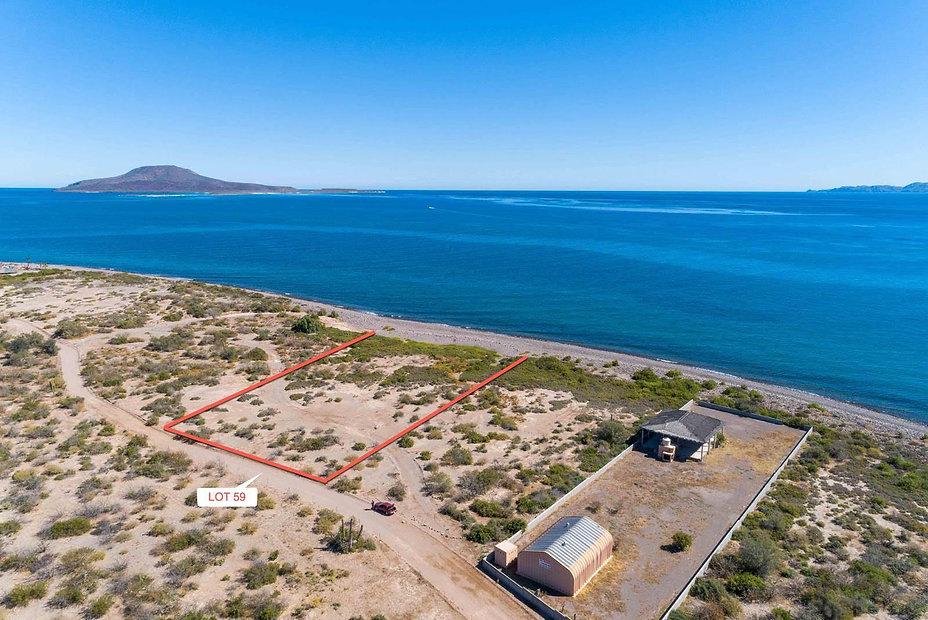 El Bajo Lot - East View with Coronado Is
