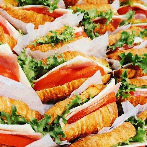 크로와상 샌드위치