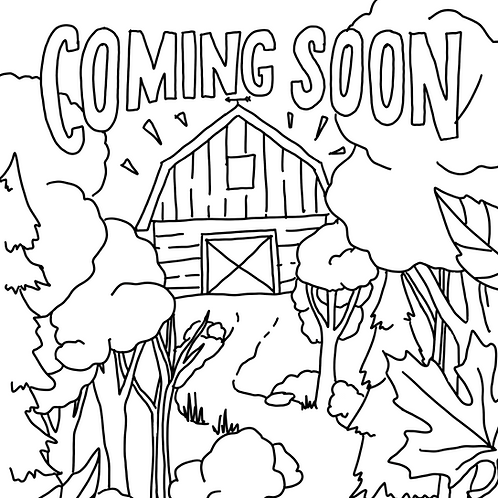 Coming Soon Coloring Page