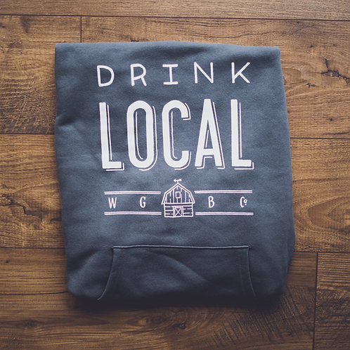 Drink Local Drop Pocket Sweatshirt