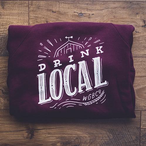 Drink Local Crewneck Sweatshirt