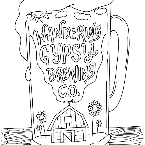 Brew Coloring Page