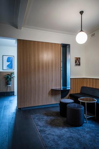 Upstairs lounge areas