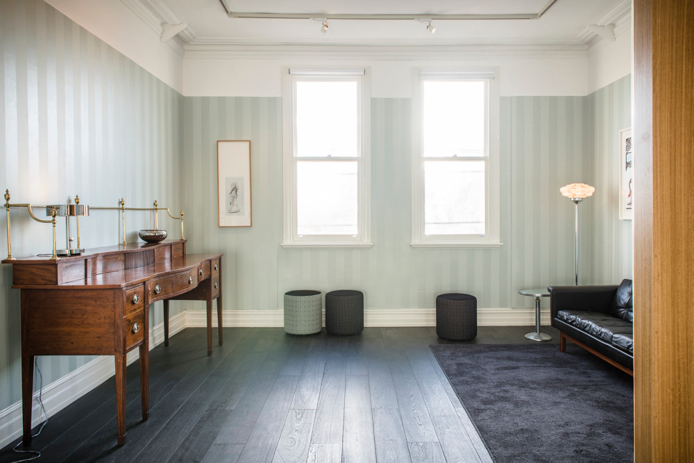 Upstair lounge areas