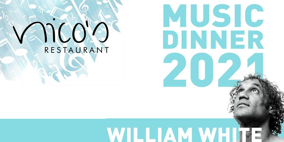 MUSIC DINNER 2021 | WILLIAM WHITE