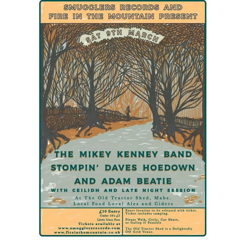 Mikey Kenney Band, Stompin' Daves Hoedown, Adam Beattie
