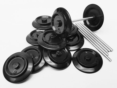 Wheels and Axles - 6 Sets